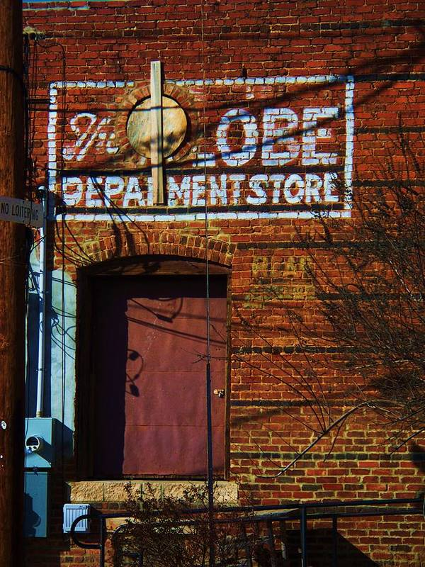 Brick Art Print featuring the photograph Delivery Door by Beverly Hammond