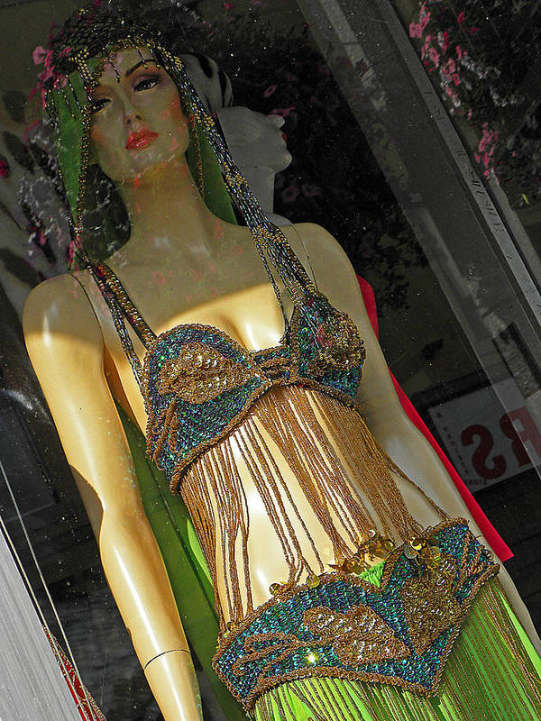 Mannequin Art Print featuring the photograph Egyptian Beauty by Elizabeth Hoskinson