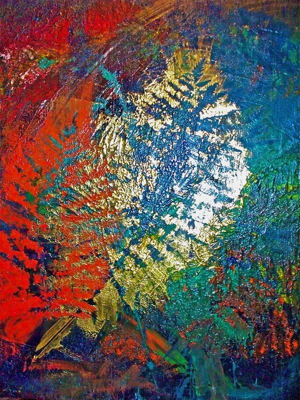Imprints Art Print featuring the painting Ferns by Jennifer Addington