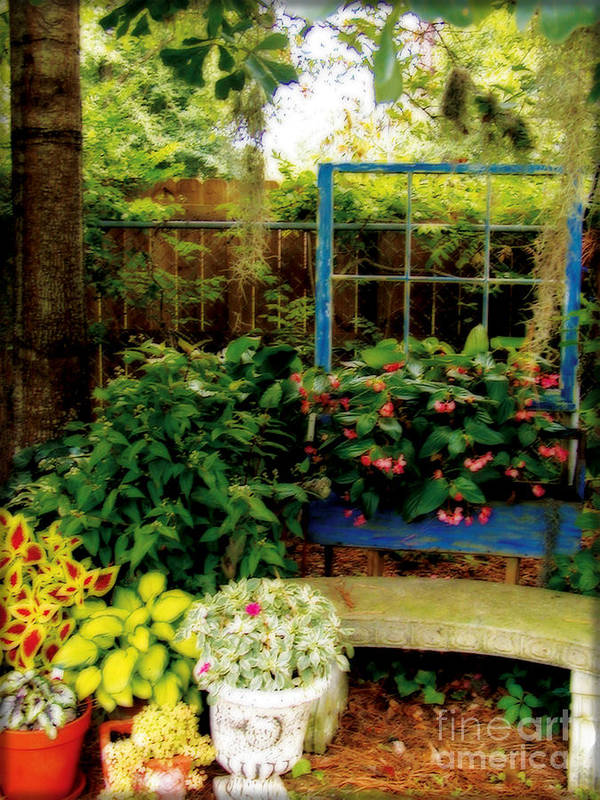 Garden Art Print featuring the photograph Grandmother's Dream by Laura Brightwood
