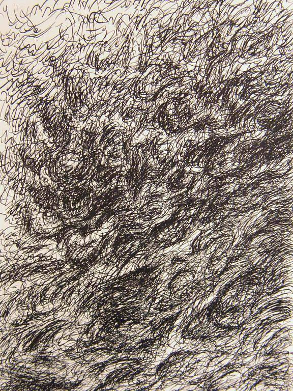 Landscape Art Print featuring the drawing Gravity by Uwe Schein