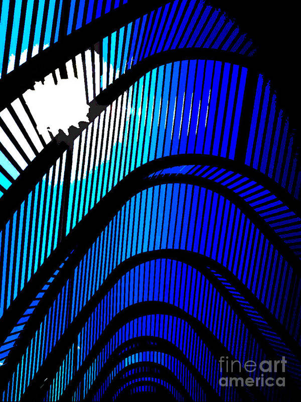 Abstraction Art Print featuring the photograph Incredible Lightness Of Being by David Bearden