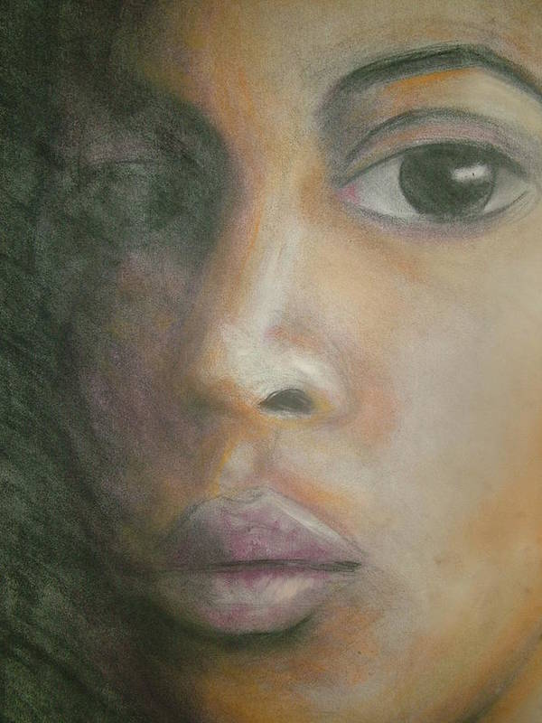 Art Print featuring the drawing Inside The Soul by Jan Gilmore