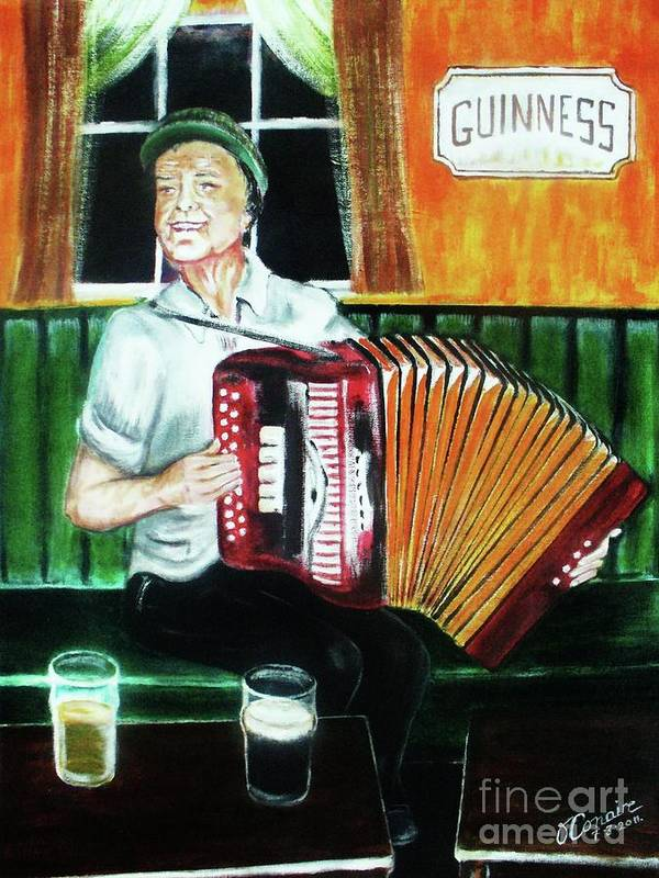 Art Art Print featuring the painting Irish Tradition by O' Conaire