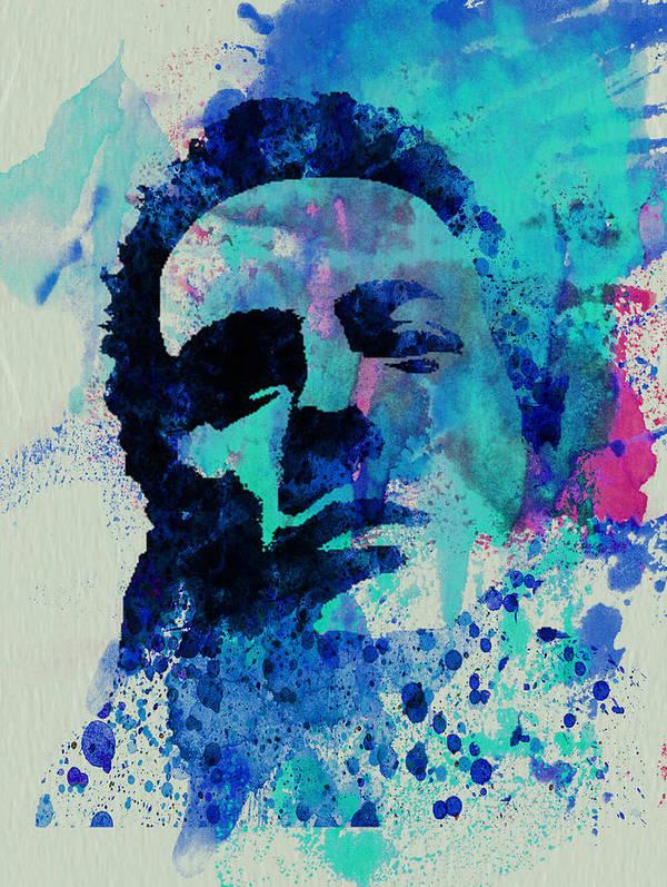 Joe Strummer Art Print featuring the painting Joe Strummer by Naxart Studio