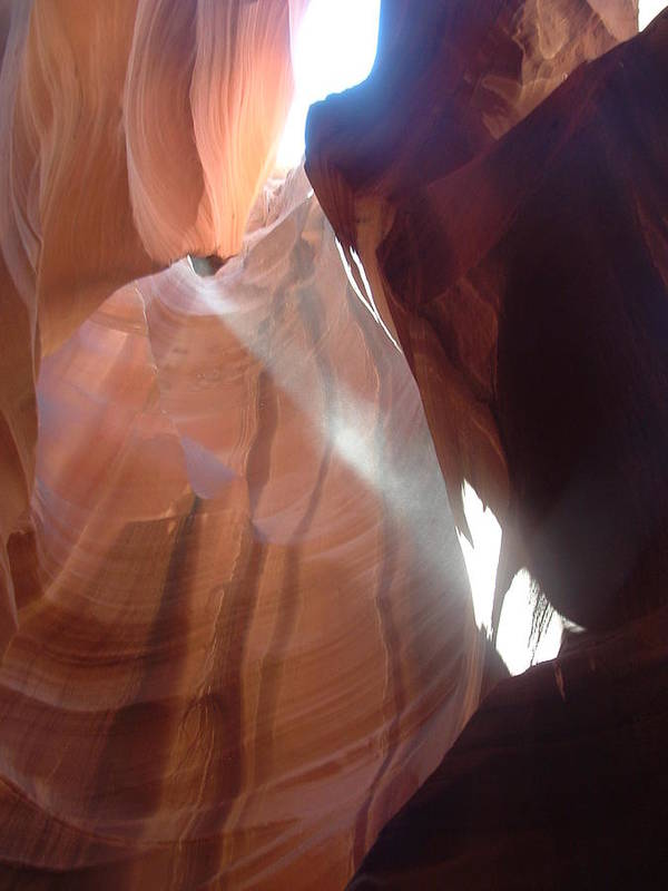 Art Print featuring the photograph Light In The Darkness by Beverly Hutchman