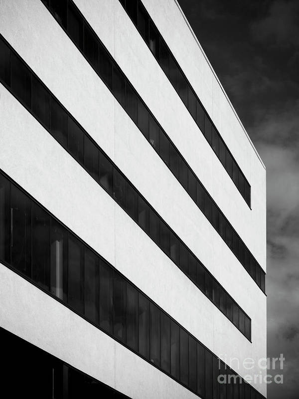 Architecture Art Print featuring the photograph Linna by Tapio Koivula