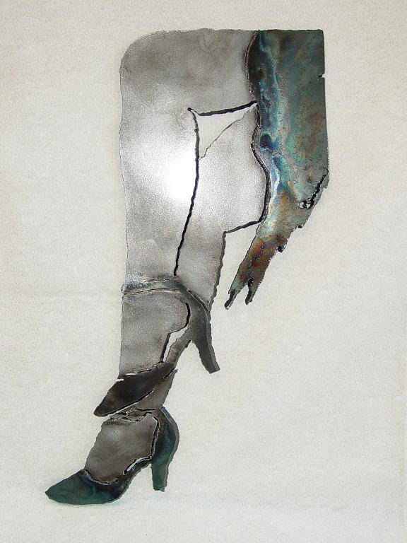 Dancer Art Print featuring the sculpture Mae Sold by Steve Mudge