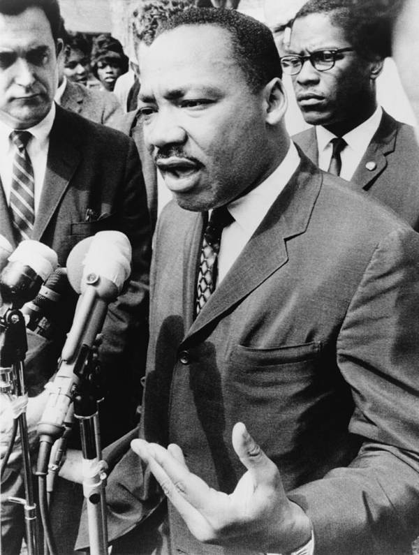 History Art Print featuring the photograph Martin Luther King, Jr. 1929-1968 by Everett