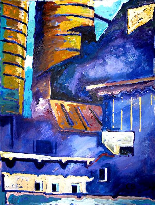 Mill Art Print featuring the painting Mill Viii by Charlie Spear