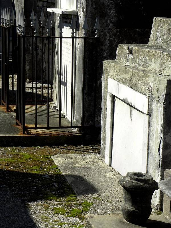 Photograph On Paper Art Print featuring the photograph New Orleans Crypts 3 by Patricia Bigelow