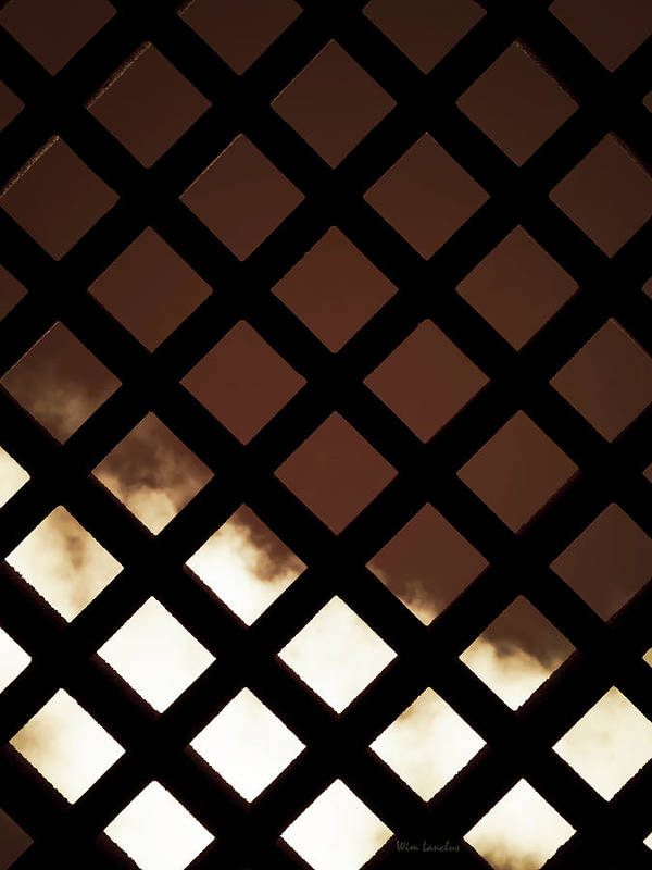 Fence Art Print featuring the photograph No Escape by Wim Lanclus