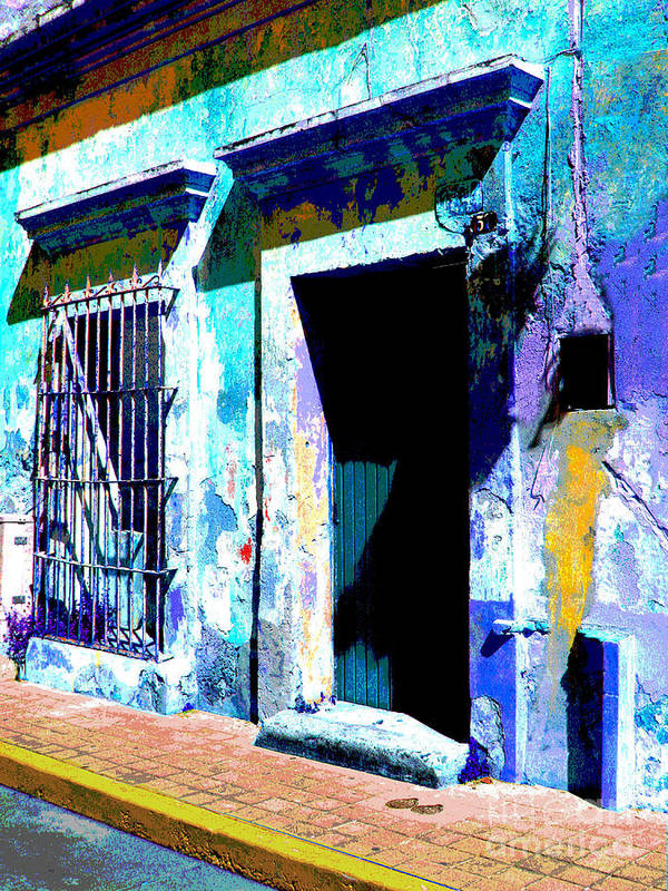 Darian Day Art Print featuring the photograph Old Paint By Darian Day by Mexicolors Art Photography
