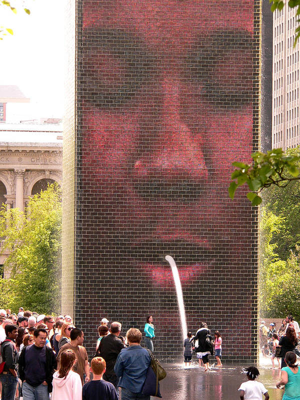 Chicago Illinois Art Print featuring the photograph Proving Newton Correct by David Bearden