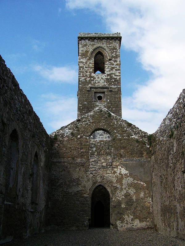 Ireland Art Print featuring the photograph Sanctuary Fuerty Church Roscommon Ireland by Teresa Mucha