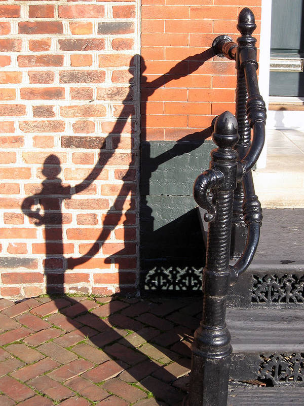 Shadow Art Print featuring the photograph Shadow by Sean Owens