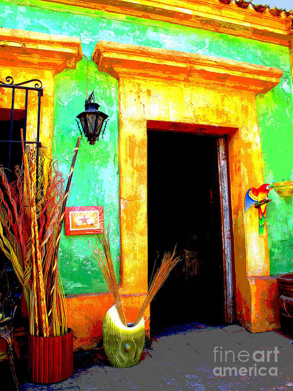 Darian Day Art Print featuring the photograph Shop El Quilete By Darian Day by Mexicolors Art Photography