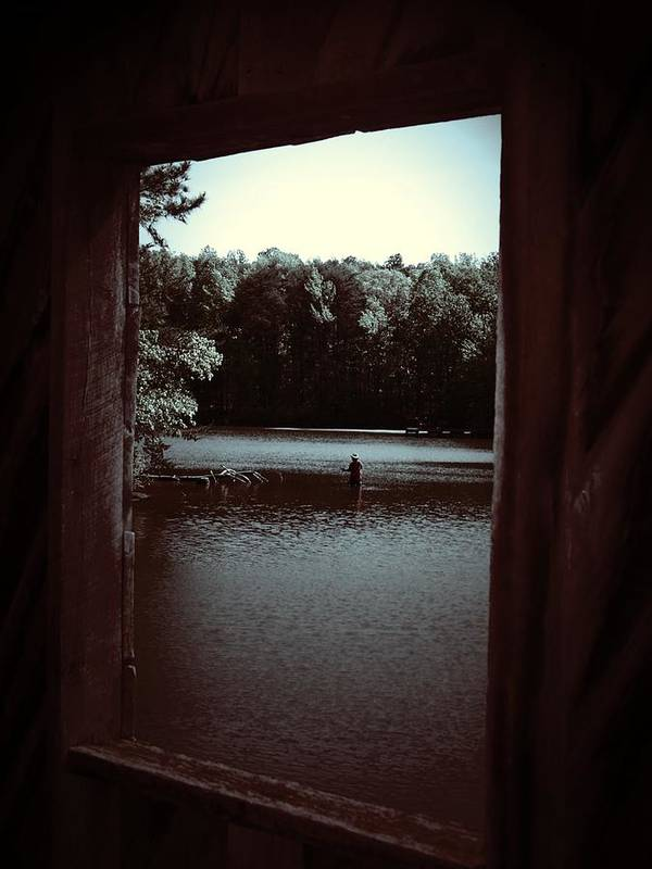 Lake Art Print featuring the photograph Simple Times by Jessica Burgett