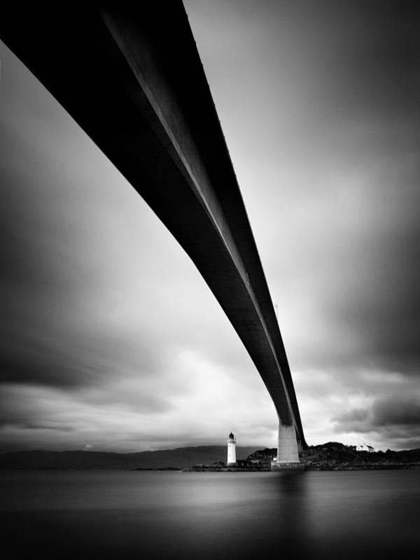 Scotland Art Print featuring the photograph Skye Bridge by Nina Papiorek