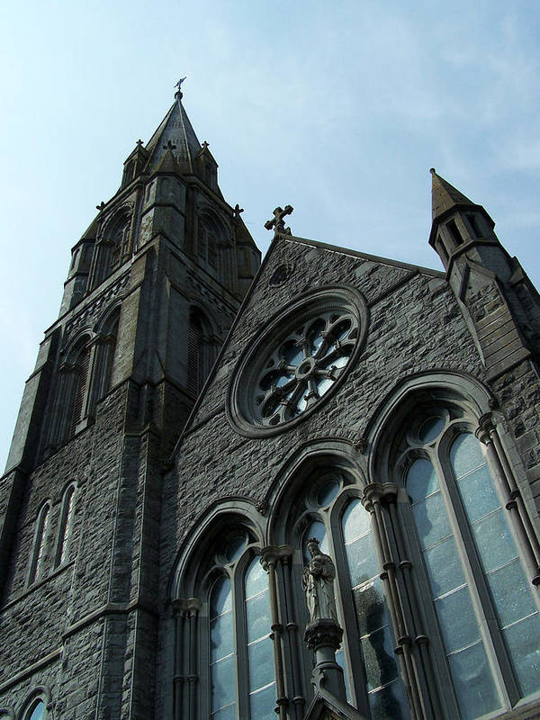 Ireland Art Print featuring the photograph St. Mary's Of The Rosary Catholic Church by Teresa Mucha