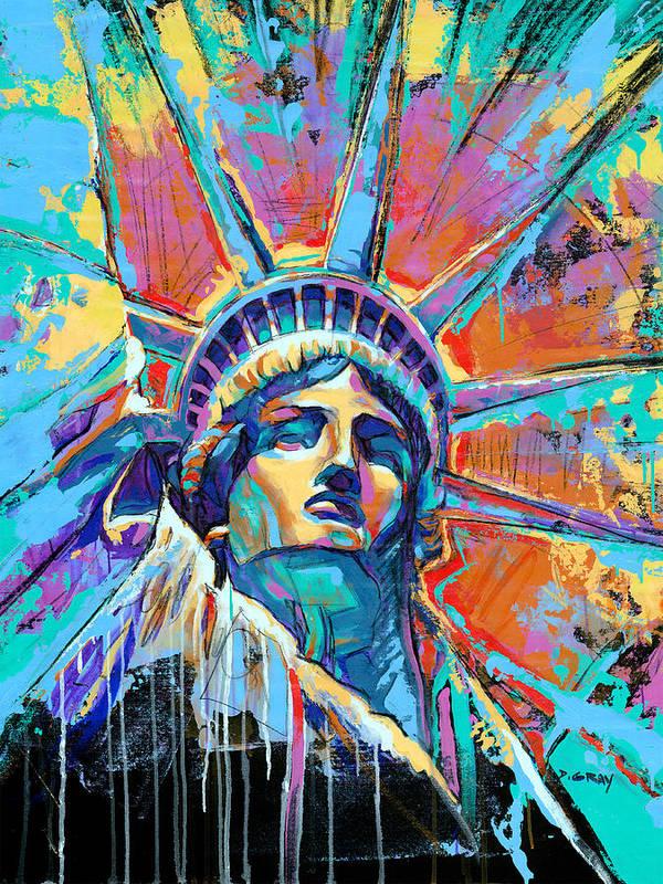 Statue of liberty art fine art america for Americas best paint