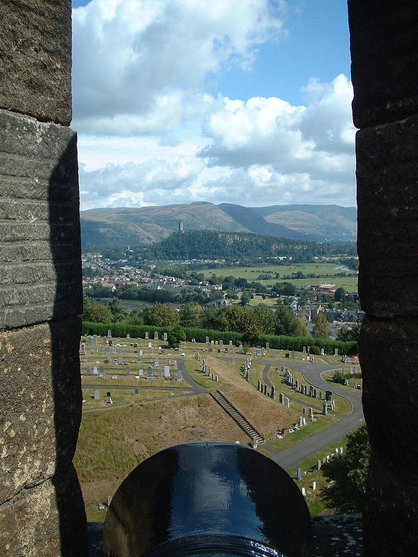 Landscape Art Print featuring the photograph Stirling Canon by Martina Fagan