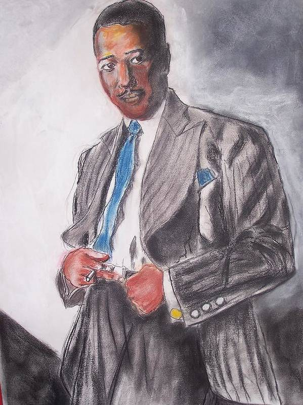 Jazz Art Print featuring the print The Duke At The Cotton Club by Darryl Hines