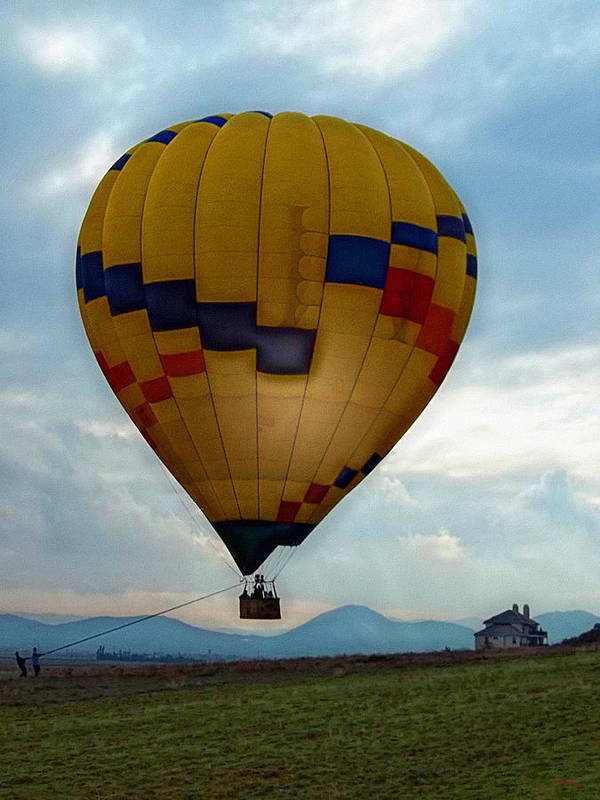 Hot Air Balloon Art Print featuring the photograph The Impressionable Balloon by Glenn McCarthy Art and Photography