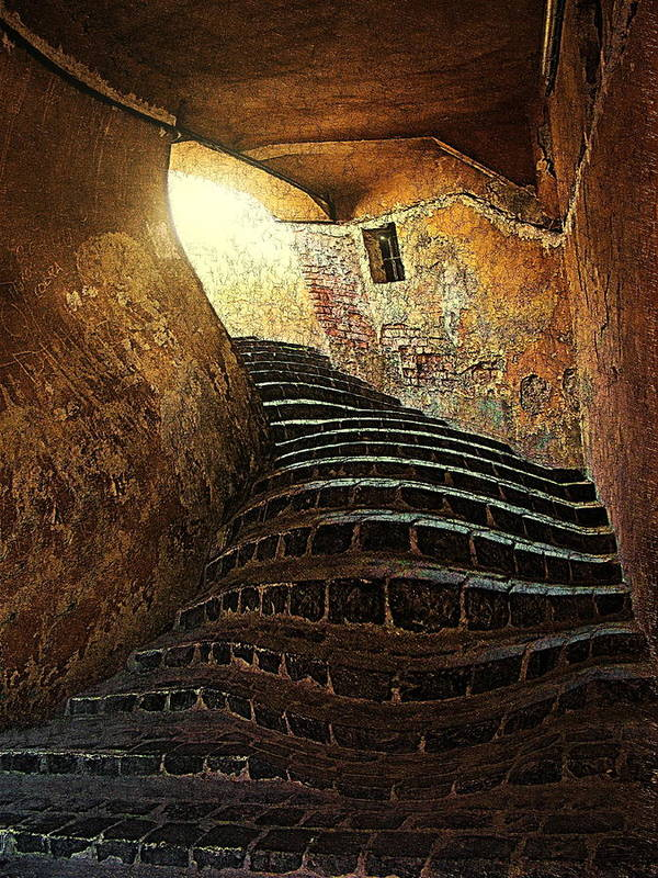 Fine Art Art Print featuring the photograph The Light At The End Of The Tunel by Lucian Badea