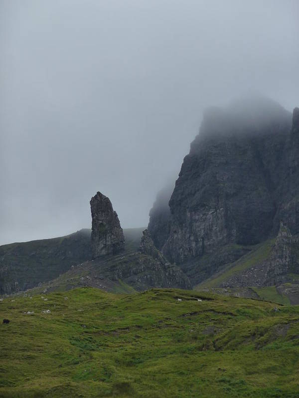 Scotland Art Print featuring the photograph The Old Man Of Storr by TL Randleman