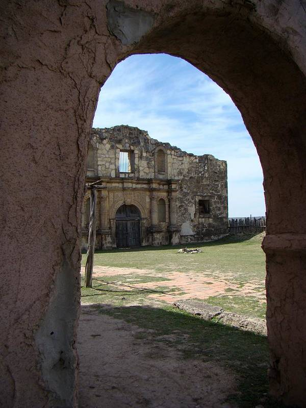 Alamo Art Print featuring the photograph The Other Alamo by Ana Villaronga