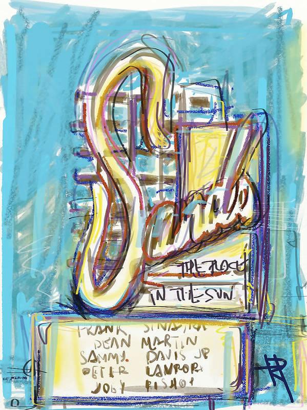 Vegas Art Print featuring the digital art The Sands by Russell Pierce