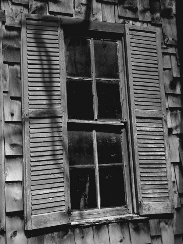 Fine Art Photograph Art Print featuring the photograph The Window by Michael L Kimble