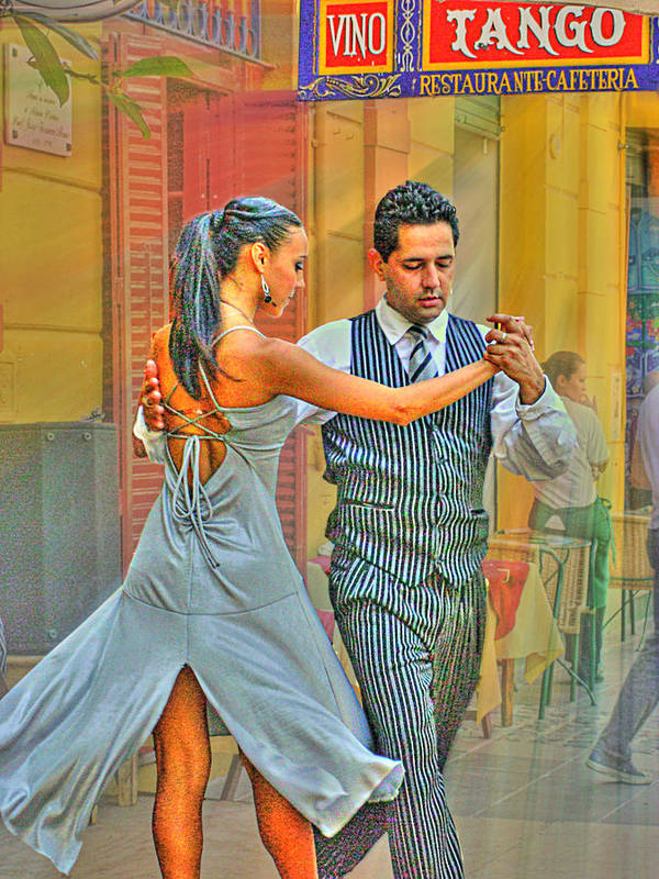 Tango Art Print featuring the photograph Too Tango by Francisco Colon