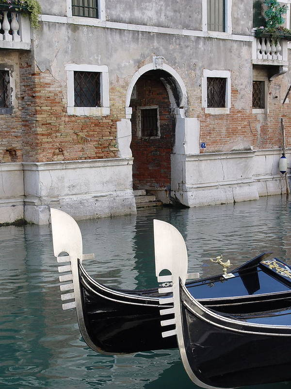 Italy Art Print featuring the photograph Visions Of Venice 3. by Nancy Bradley