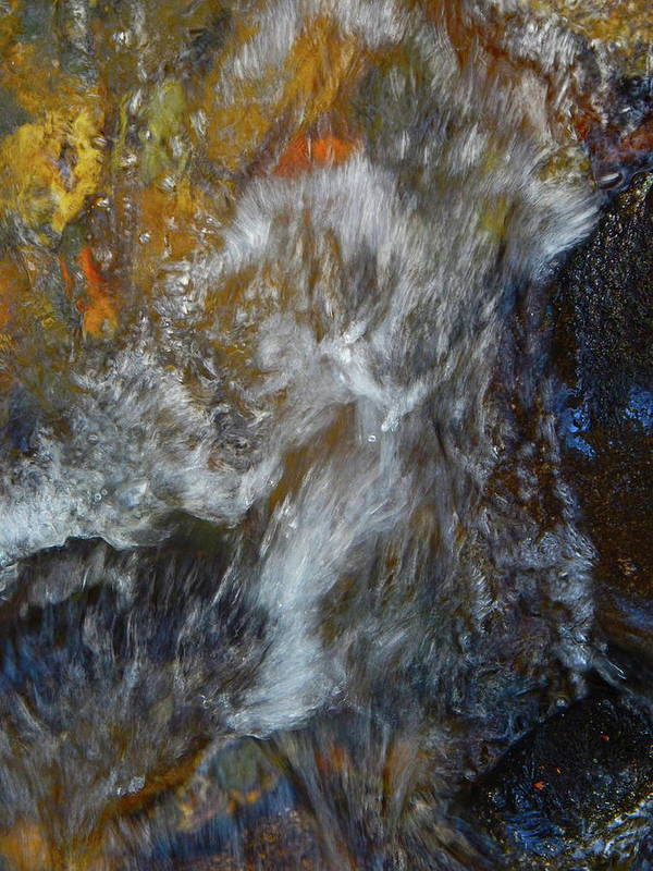 Colorful Water Art Art Print featuring the photograph Water Whimsy 169 by George Ramos