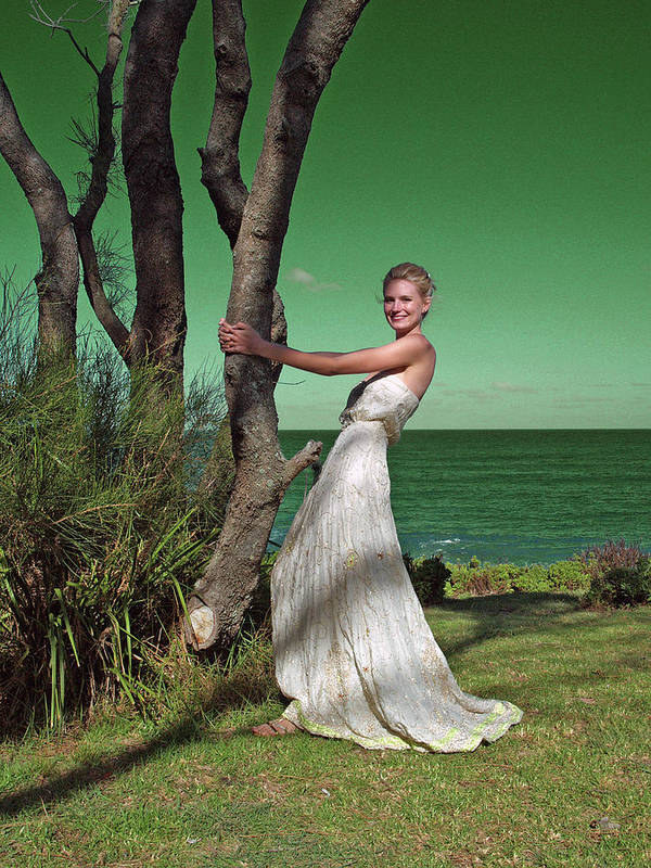 Bride Art Print featuring the photograph Wedding 5 by Elisabeth Dubois