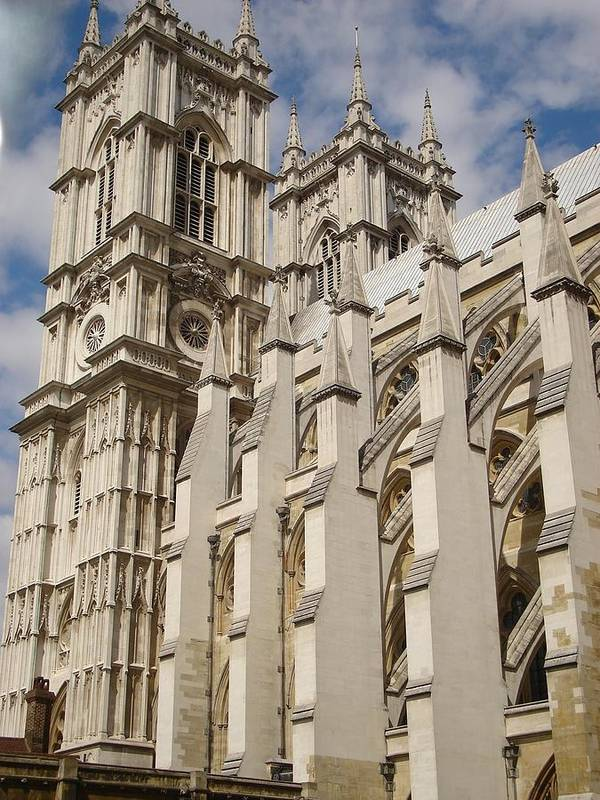 Westminster Abbey Art Print featuring the photograph Westminster by Kimberly Hill