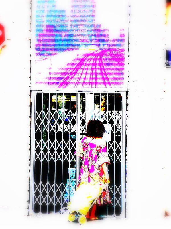 Window Art Print featuring the photograph Window Shopping Lyon Style by Funkpix Photo Hunter