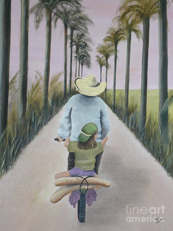 Tropical Art Print featuring the painting You're The Best by Kris Crollard