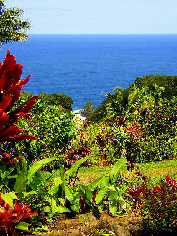 Maui Art Print featuring the photograph There Is A Paradise - Maui Hawaii by Glenn McCarthy Art and Photography