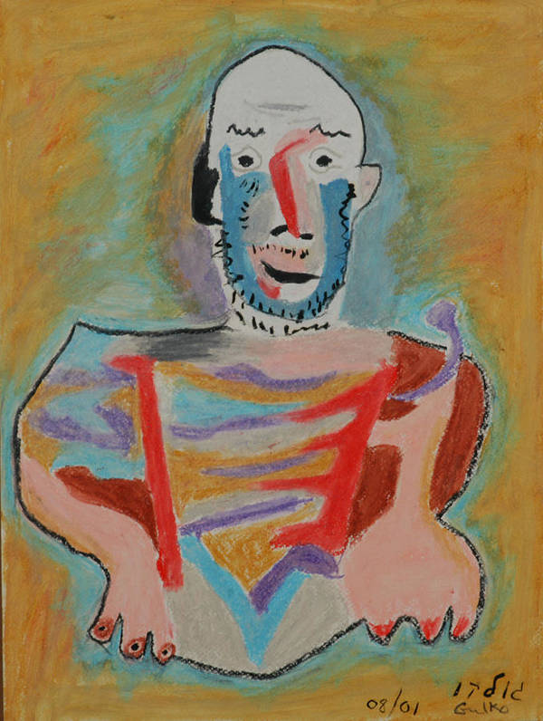 Picasso Art Print featuring the painting After Picasso by Harris Gulko