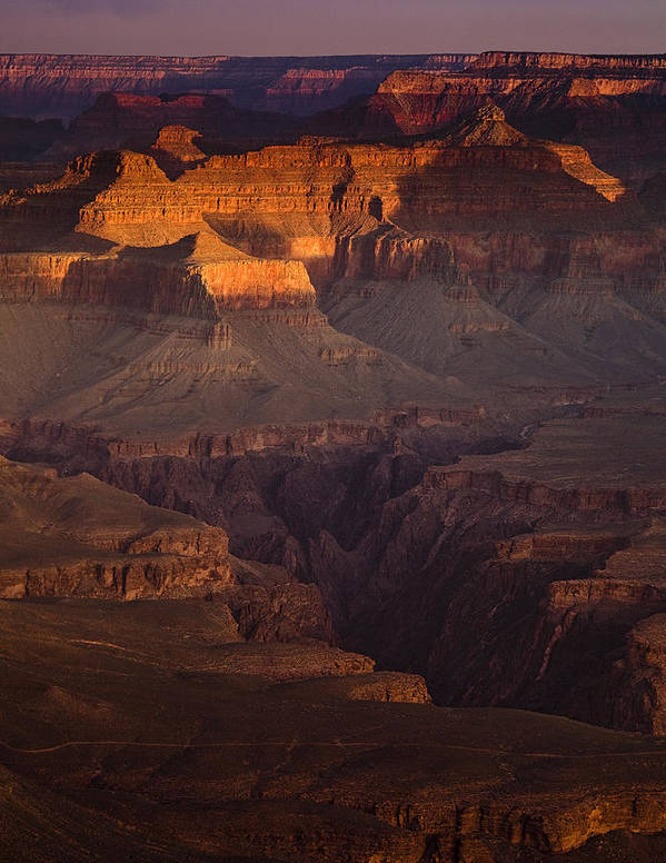 National Park Art Print featuring the photograph Evening In The Canyon by Andrew Soundarajan