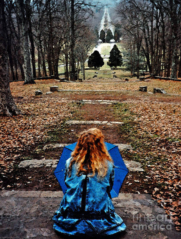 Park Print featuring the photograph Find Me by Lydia Holly