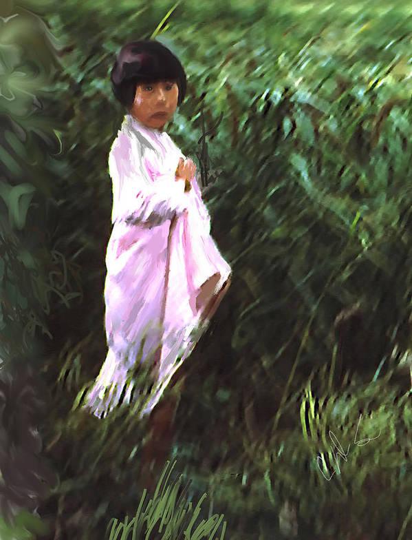 Inchon Art Print featuring the photograph Korean Child by Dale Stillman