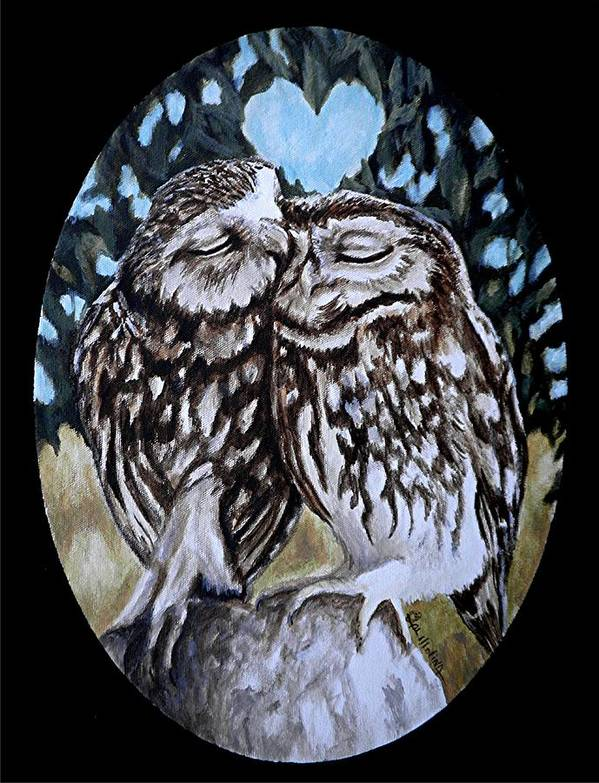 Owl Always Love You Art Print by Al Molina