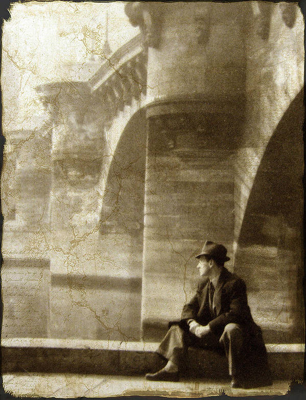 Paris Art Print featuring the photograph Reflecting By The Seine by Jessica Jenney