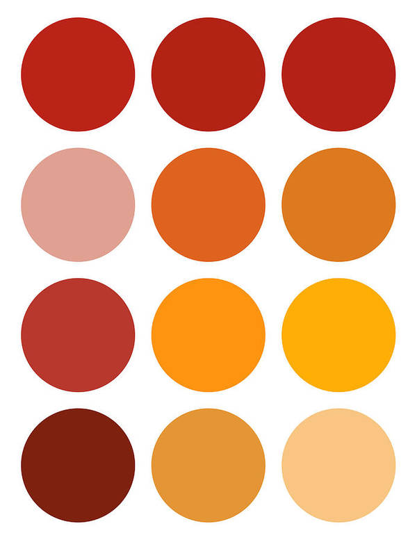 Saffron Art Print featuring the painting Saffron Colors by Frank Tschakert