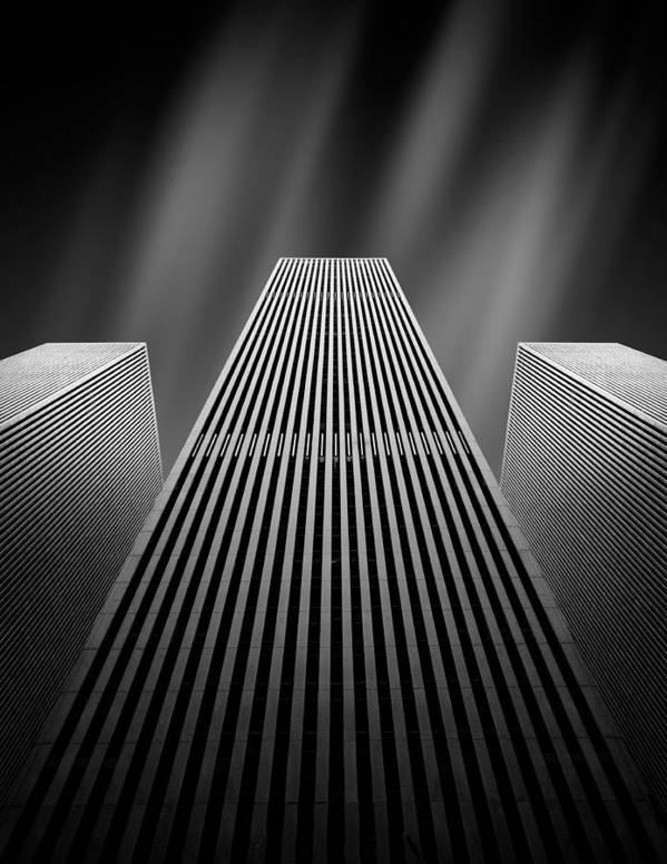 Architecture Art Print featuring the photograph The W by Olivier Schwartz