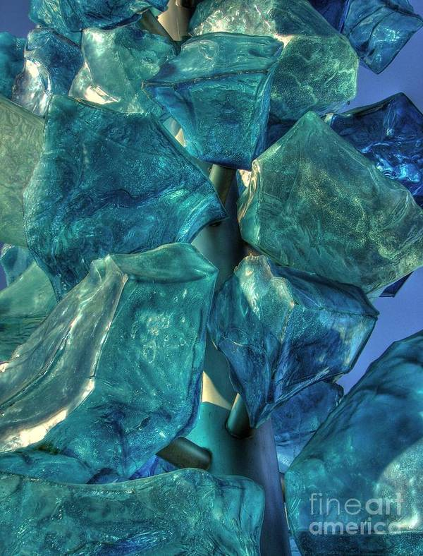 Close-up Art Print featuring the photograph Turquoise by Chris Anderson
